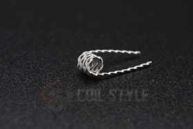 NI80 Twisted Clapton Coil 0.36ohm